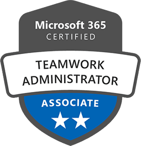 Microsoft 365 Certified: Teamwork Administrator Associate Exams