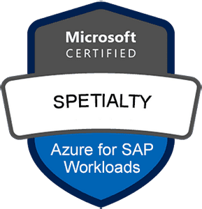 Microsoft Certified: Azure for SAP Workloads Specialty Exams