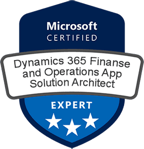 Microsoft Certified: Dynamics 365: Finance and Operations App Solution Architect Expert Exams