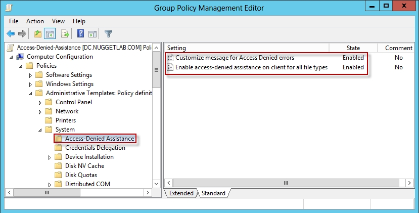 microsoft group policy object editor