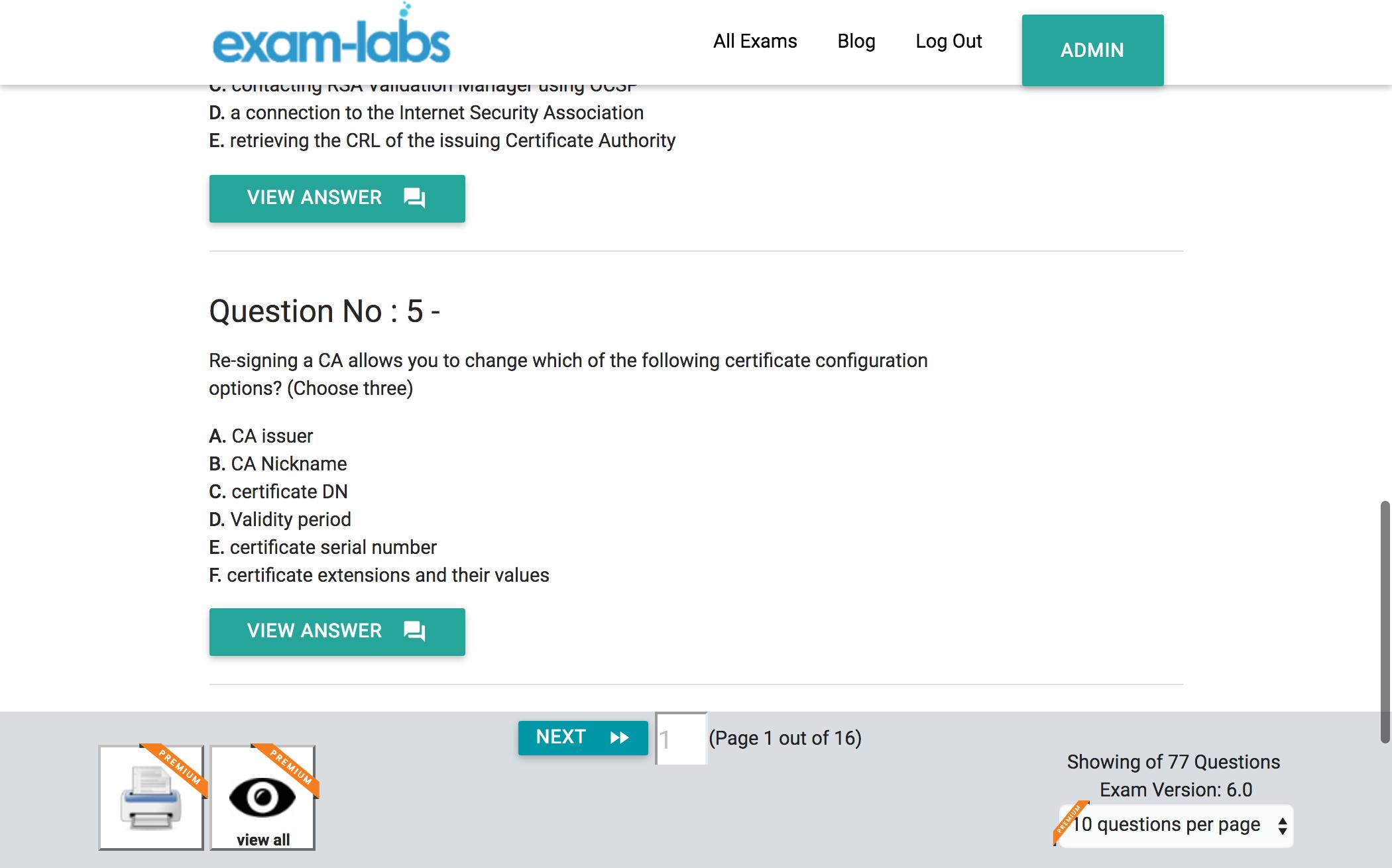 050 v66 sercms02 rsa real exam questions 100 free exam labs rsa 050 v66 sercms02 rsa certificate management solution 66 cse exam exam xflitez Image collections