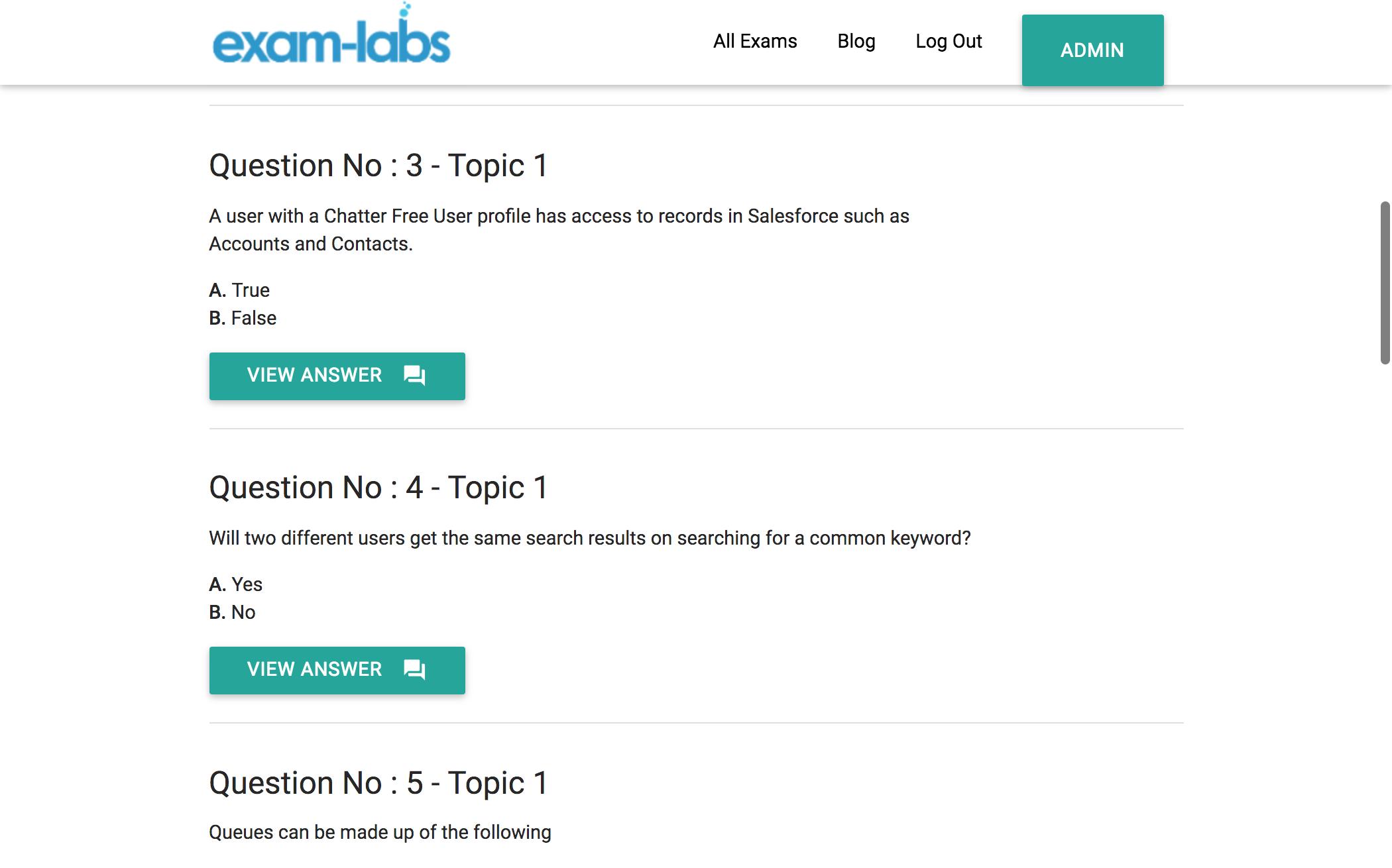adm 201 salesforce practice exam questions 100 free exam labs