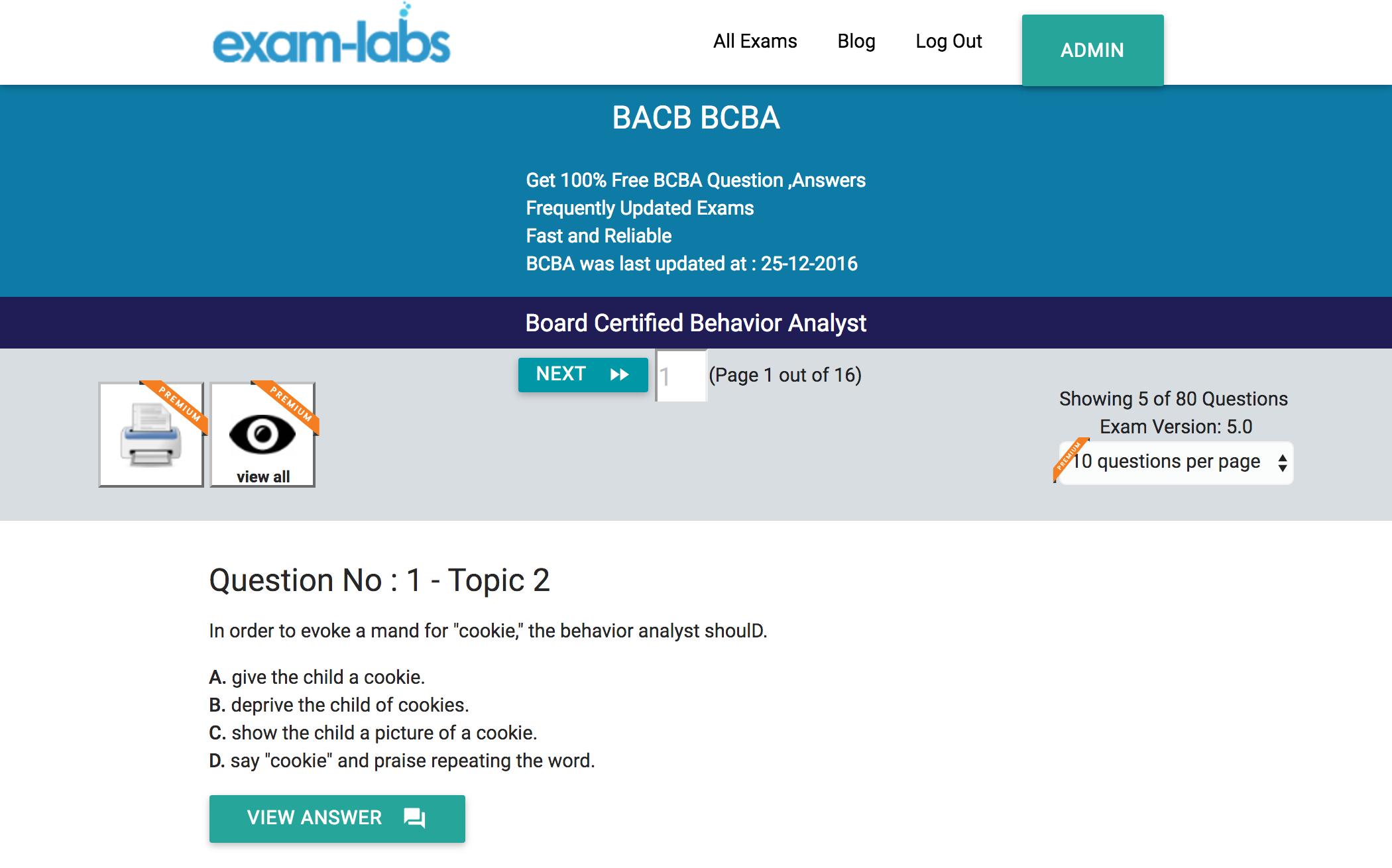 bcba bacb real exam questions % exam labs bacb bcba board certified behavior analyst exam