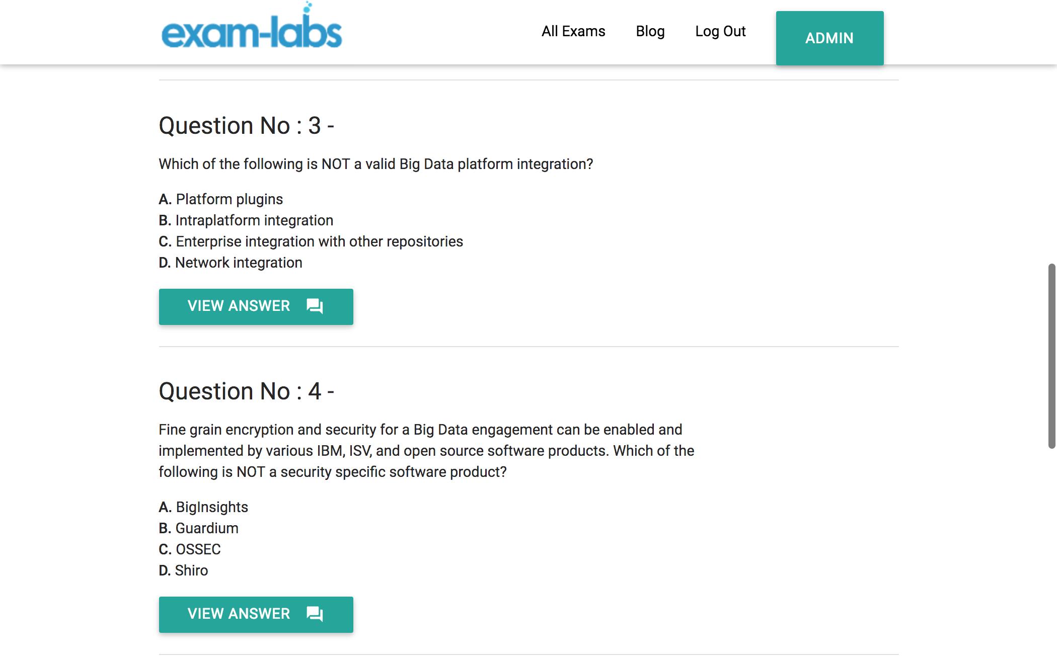 C2090-102 - IBM Practice Exam Questions - 100% Free | Exam-Labs