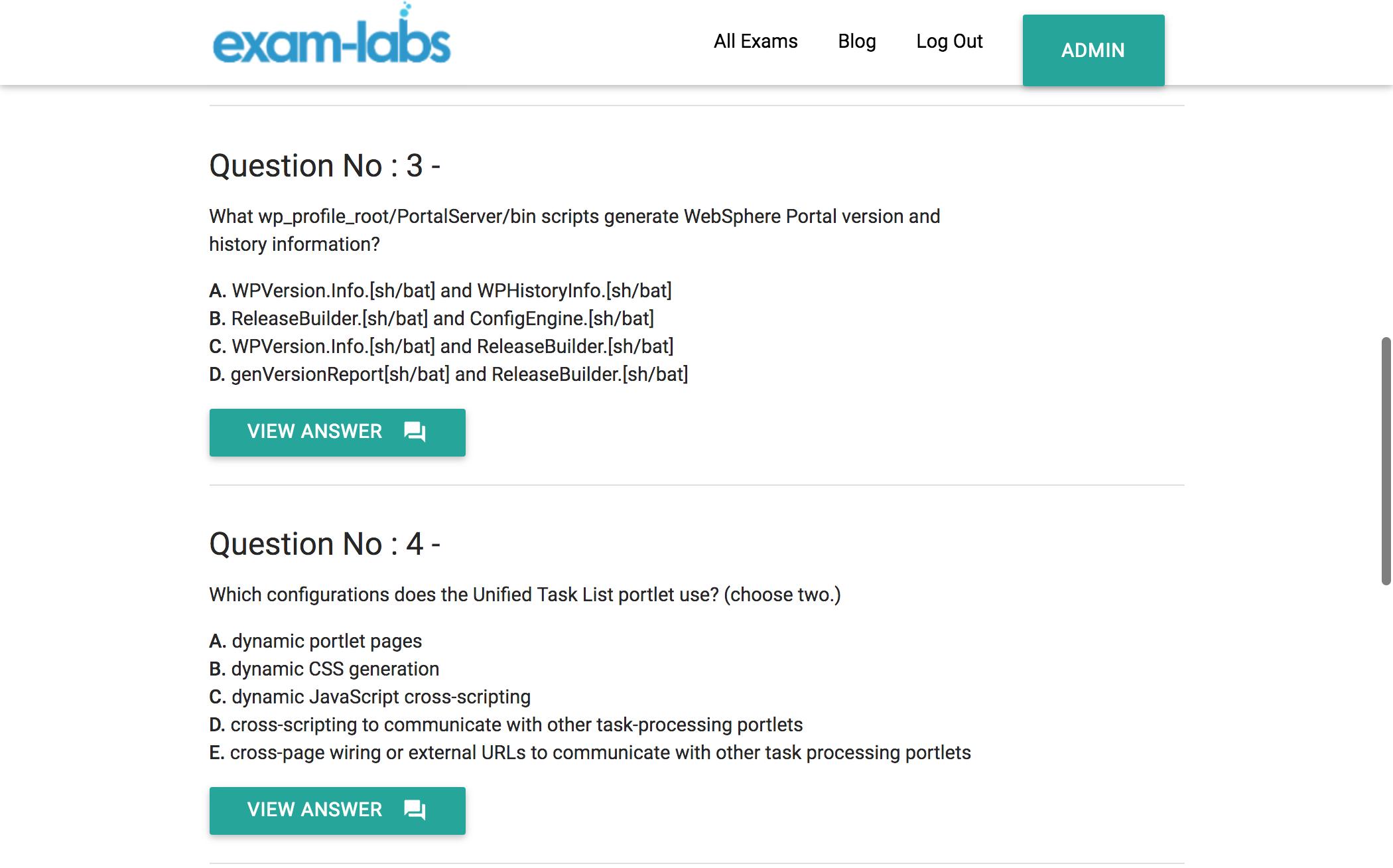 C9520-427 - IBM Real Exam Questions - 100% Free   Exam-Labs