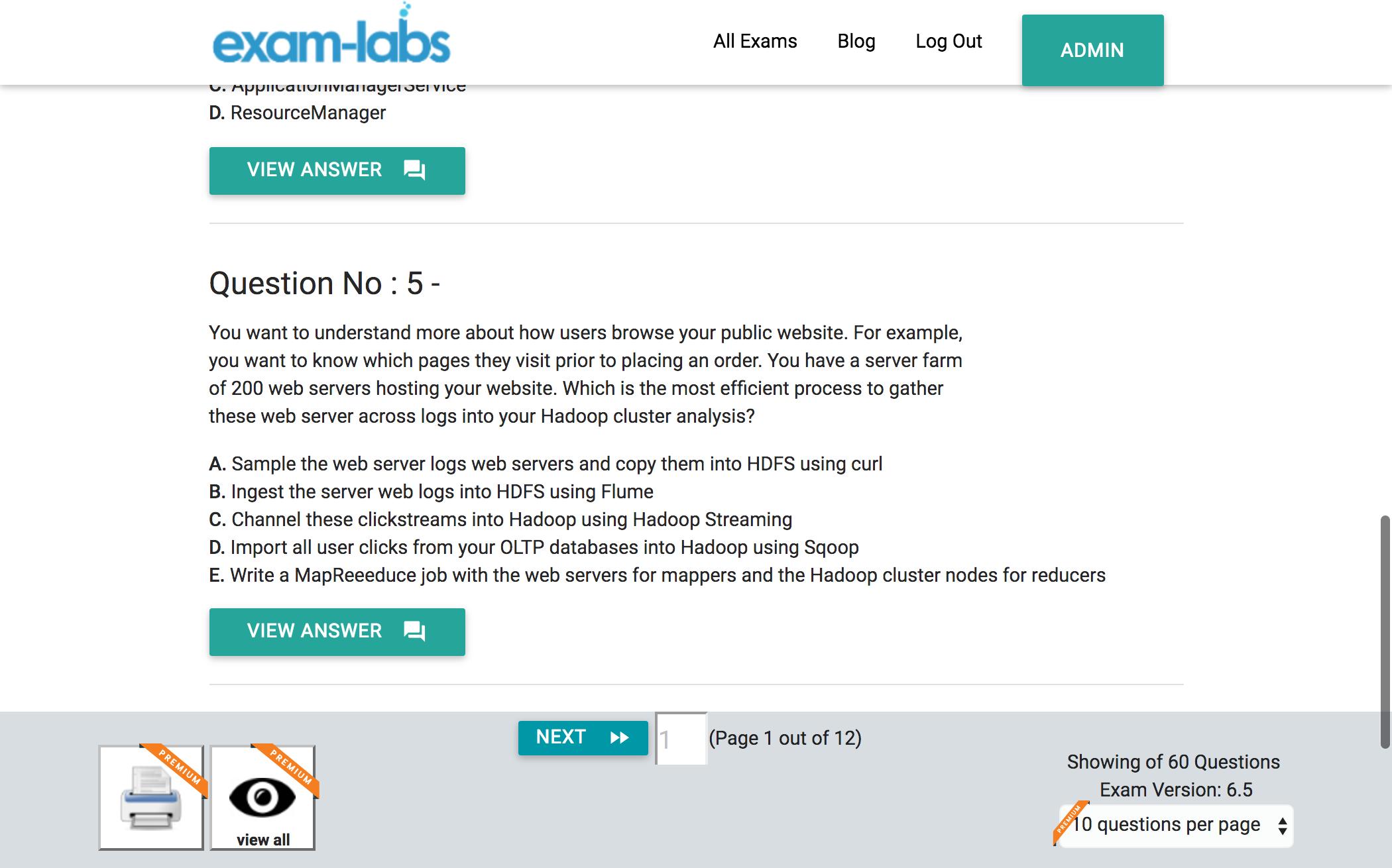 Cca 500 Cloudera Practice Exam Questions 100 Free Exam Labs