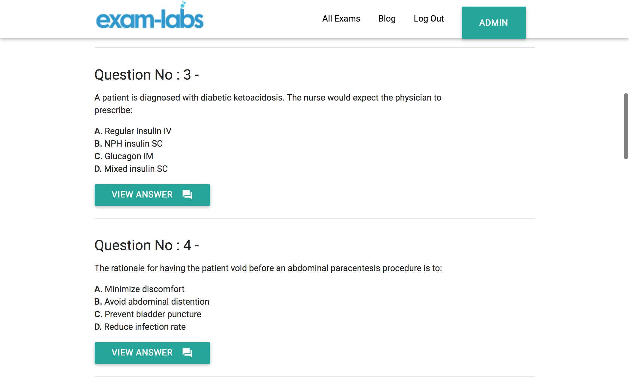 HAAD-RN - HAAD Real Exam Questions - 100% Free | Exam-Labs