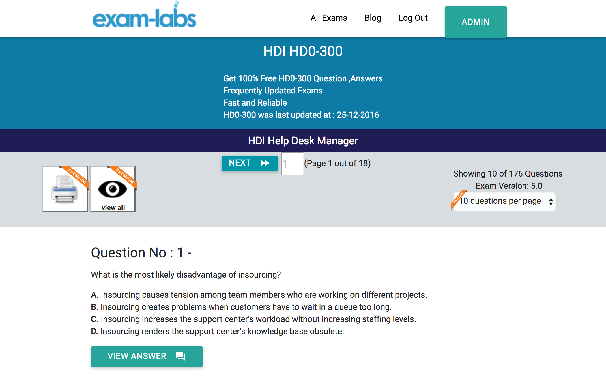 Hd0 300 Hdi Practice Exam Questions 100 Free Exam Labs