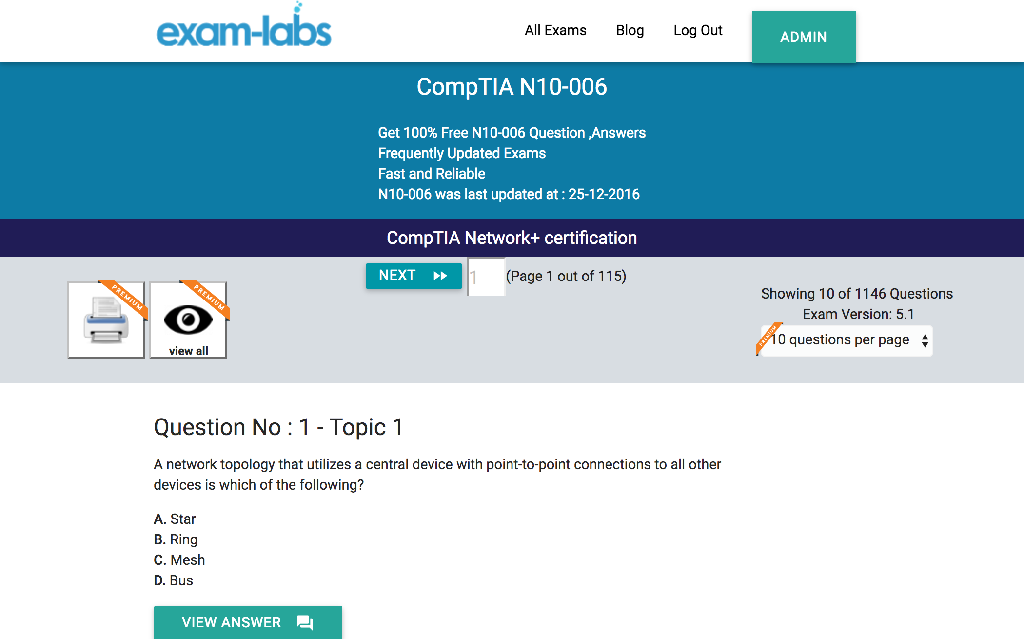 n comptia real exam questions % exam labs comptia n10 006 comptia network certification exam