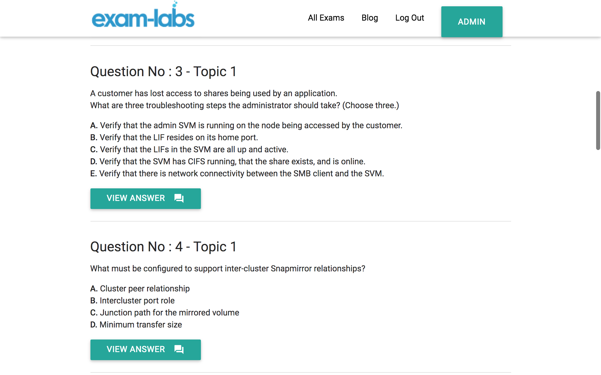 Ns0 157 netapp practice exam questions 100 free exam labs ns0 157practiceexam1 ns0 157practiceexam2 xflitez Image collections