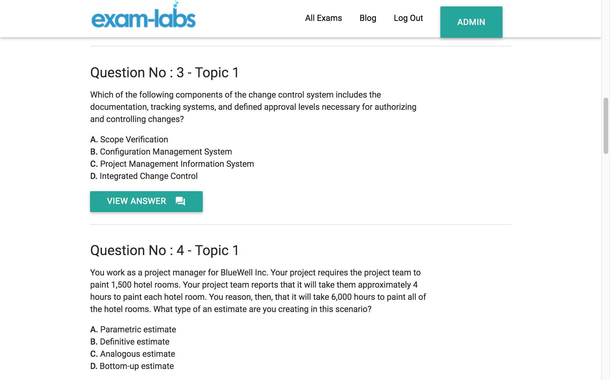 Pmi Sp Pmi Practice Exam Questions 100 Free Exam Labs