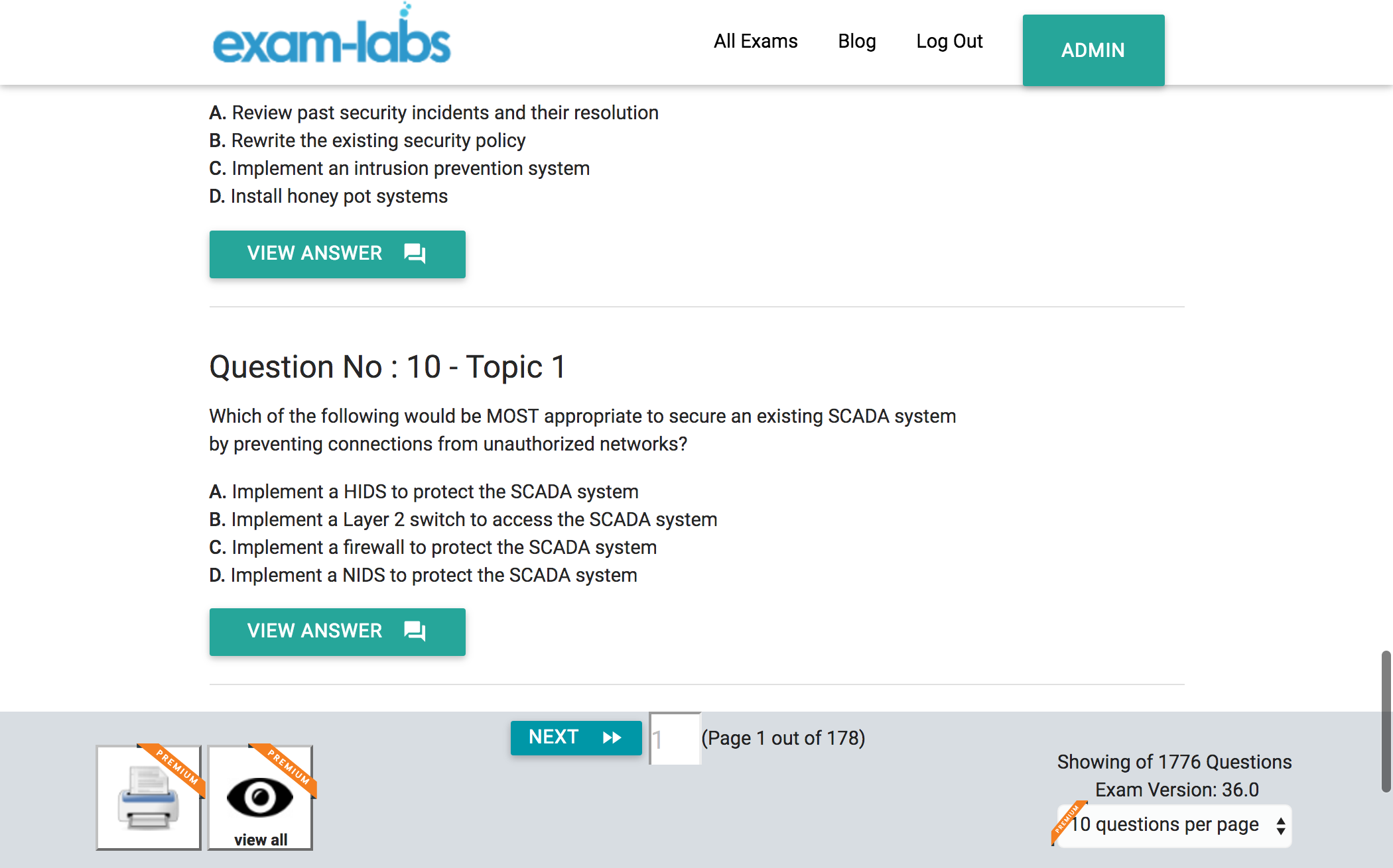 SY0-401 - CompTIA Practice Exam Questions - 100% Free | Exam-Labs
