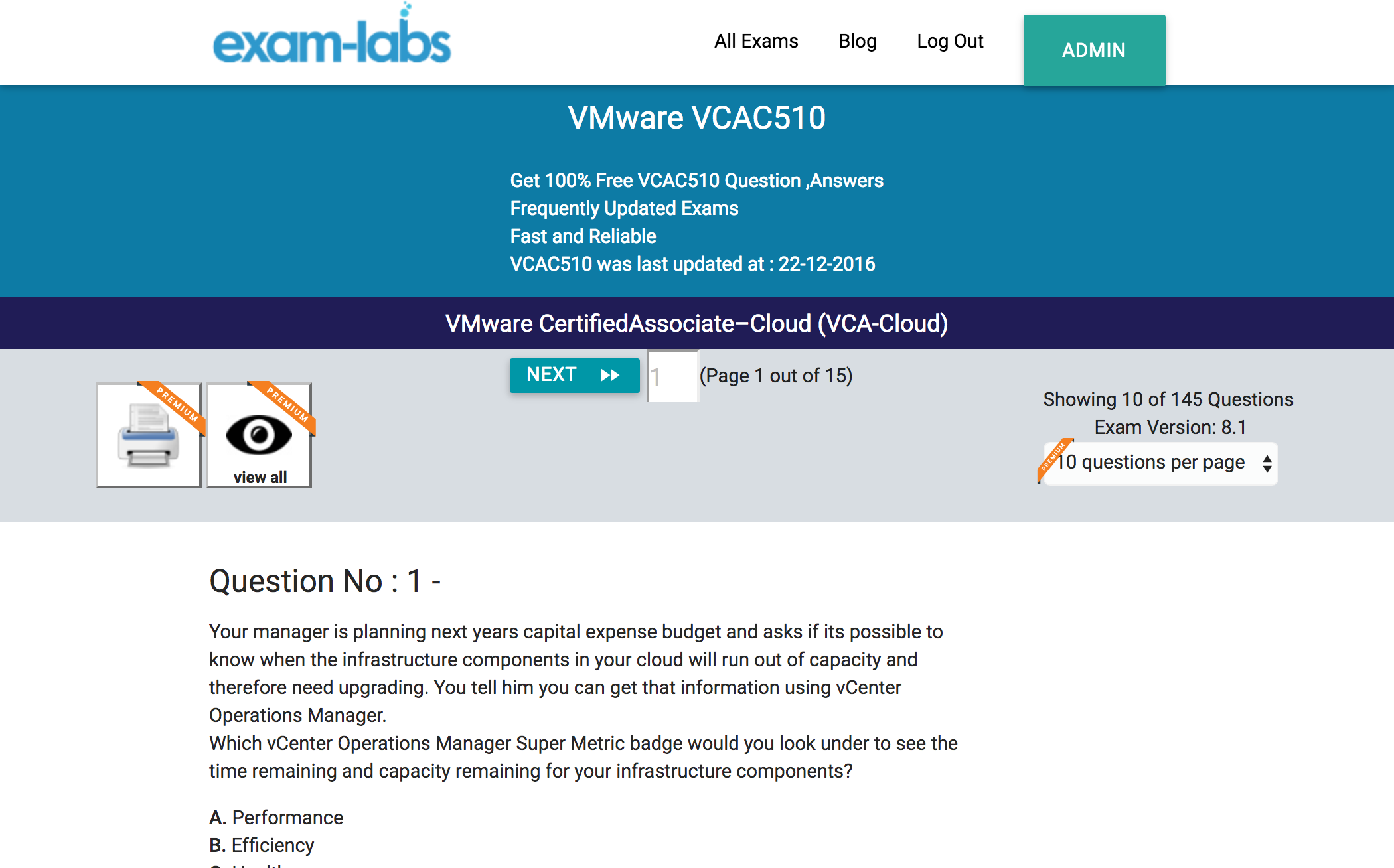 Vcac510 vmware practice exam questions 100 free exam labs vcac510practiceexam1 vcac510practiceexam2 vcac510practiceexam3 1betcityfo Gallery